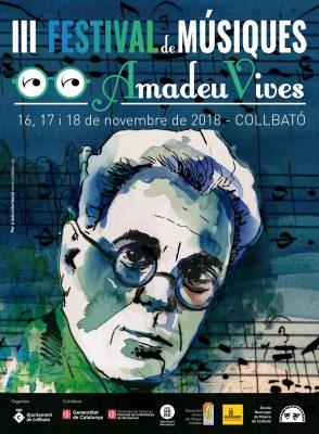Festival Amadeu Vives Collbató 2018