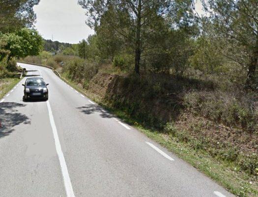 Obres carretera B-1201 Olesa