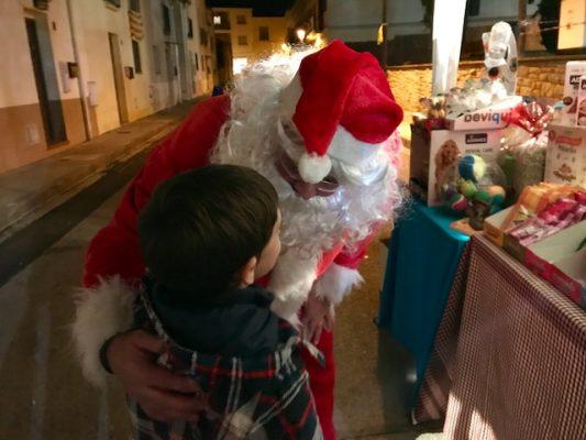 La Bustia Pare Noel Nadal