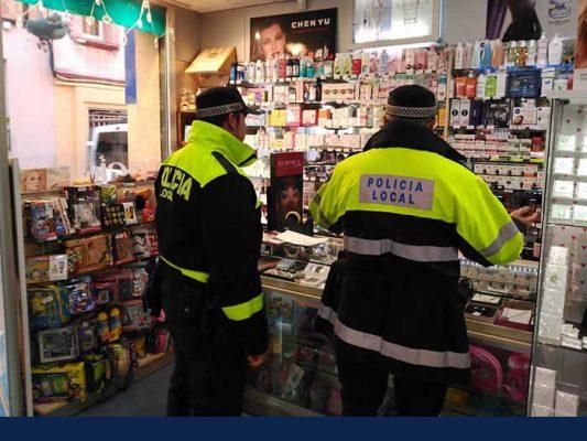 la bustia - policia local