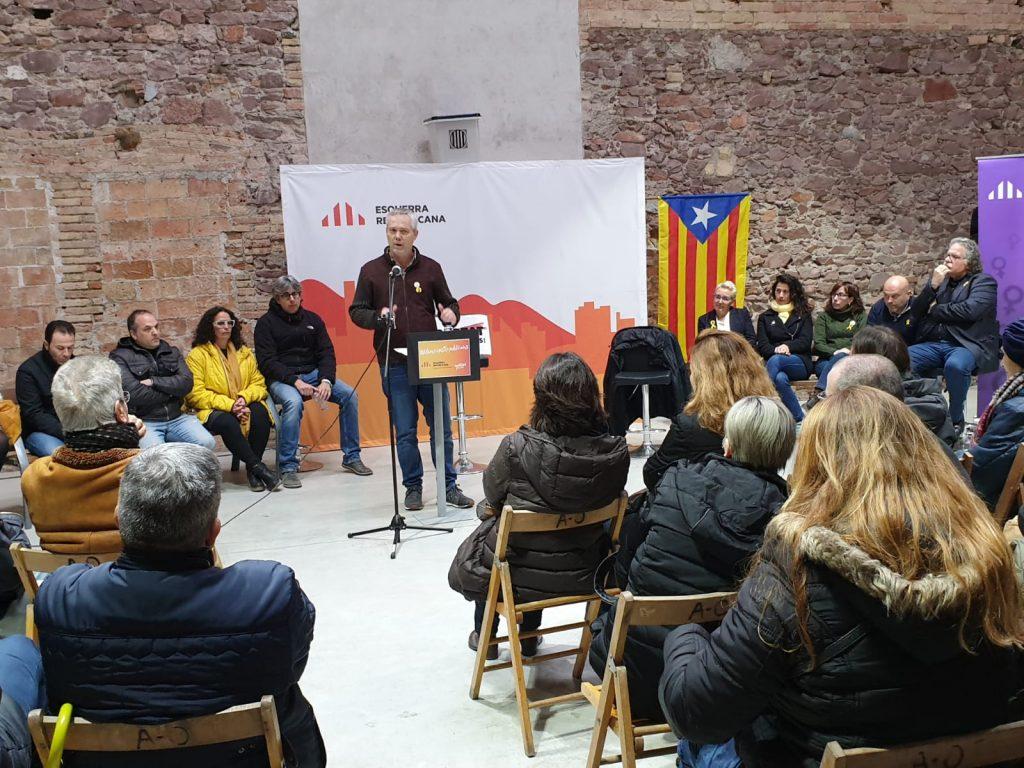 La Bústia ERC Olesa presentació candidat