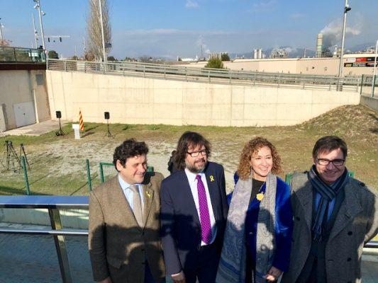 La Bústia visita de la consellera al solar del nou Palau de Justícia de Martorell 1