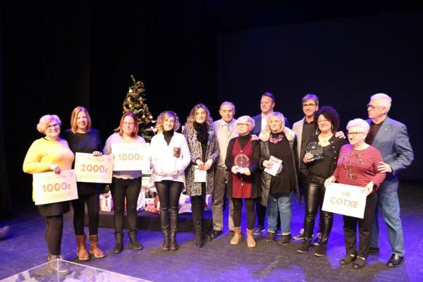 La Bustia Campanya Nadal Sant Andreu tots els premiats
