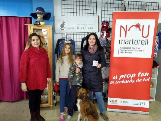 La Bustia Campanya de Nadal Martorell butlleta premiada