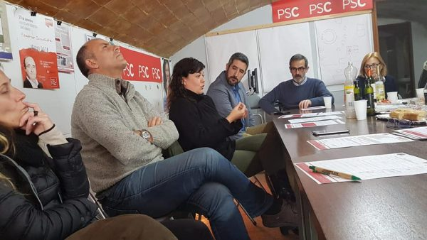 La Bústia Gemma Rodríguez assemblea PSC Collbató