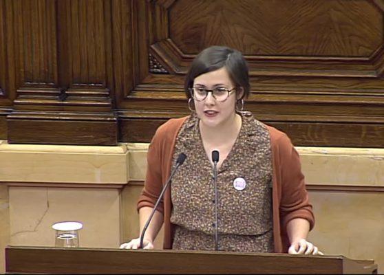 La Bústia Jenn Díaz Sant Andreu ERC Foto Parlament Catalunya