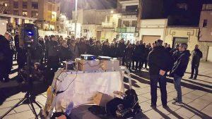 La Bústia concentració 50 divendres llibertat presos polítics Gelida Foto Montse Catalán