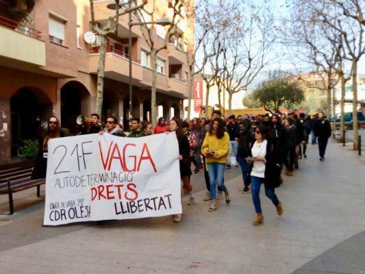 La Bustia vaga Olesa rambla Foto @cupolesa