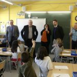 La Bustia visita Bargallo escola Ernest Lluch Abrera Foto Aj Abrera