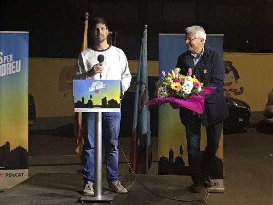 La Bustia David Romero i Joan Gaspa Junts per Sant Andreu
