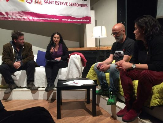 La Bustia Laura Haba Albano Dante Fachin presentacio Auxses Sant Esteve Sesrovires