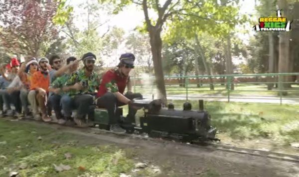 La Bustia Reggae per Xics Can Mercader Cornella Festa SuperMes