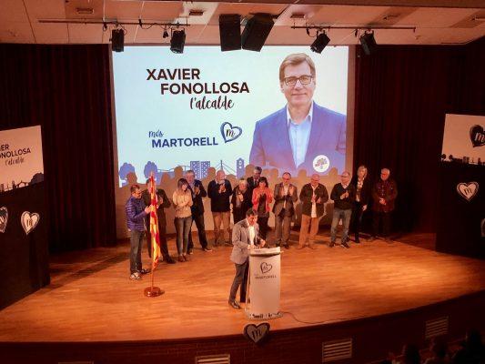 La Bustia Xavier Fonollosa Junts per Martorell