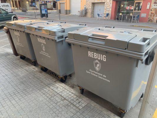 La Bustia contenidors Sant Esteve Sesrovires