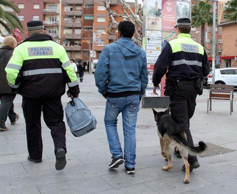 La Bustia policia local