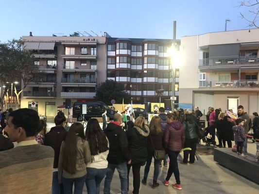 La Bustia presentacio Font de la Roda de David Romero Junts per Sant Andreu