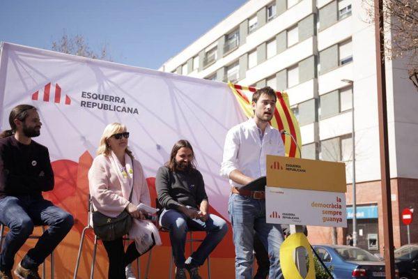 La Bustia presentacio Victor de Leon ERC Martorell