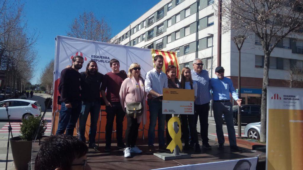 La Bustia presentacio Victor de Leon i participants ERC Martorell