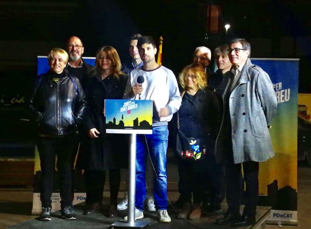La Bustia presentacio de David Romero Junts per Sant Andreu