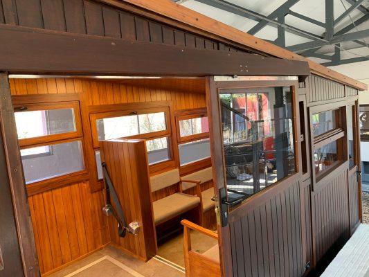 La Bustia Funicular de Gelida rehabilitat Foto FGC