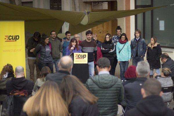La Bustia Oliva Serra presentacio CUP Olesa