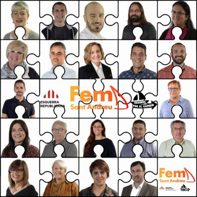 La Bustia candidatura Fem Sant Andreu