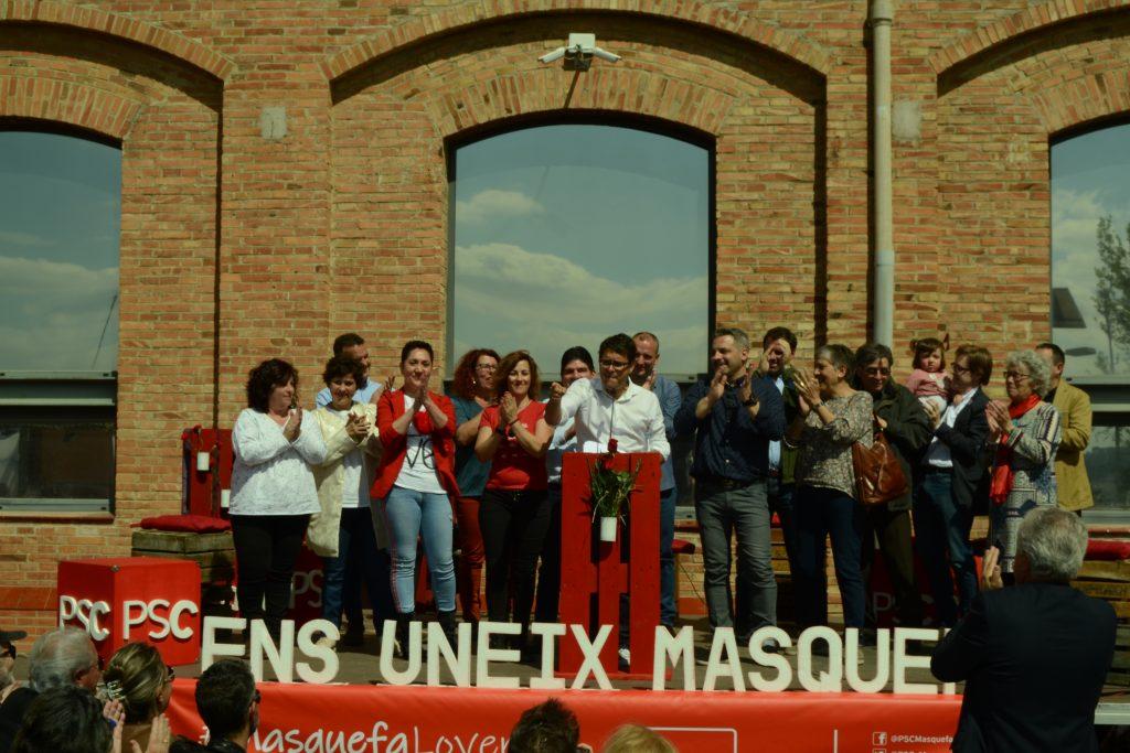 La Bustia presentacio Daniel Gutierrez PSC Masquefa