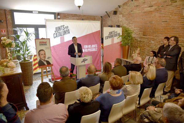 La Bustia presentacio Jordi Mestes Junts per Esparreguera 1