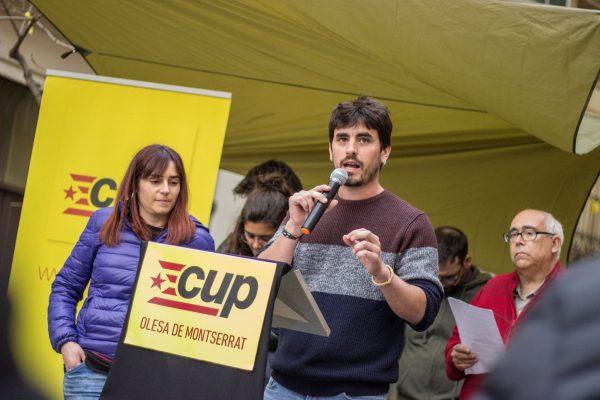 La Bustia presentacio Marc Serrado CUP Olesa