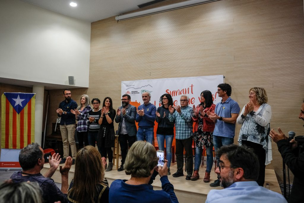 La Bustia presentacio candidatura ERC Collbato