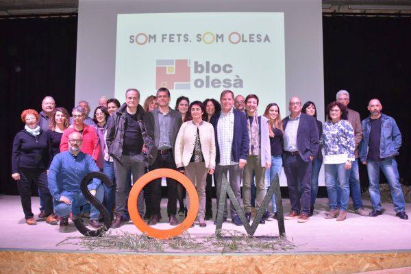 La Bustia presentacio candidatura El Bloc Olesa