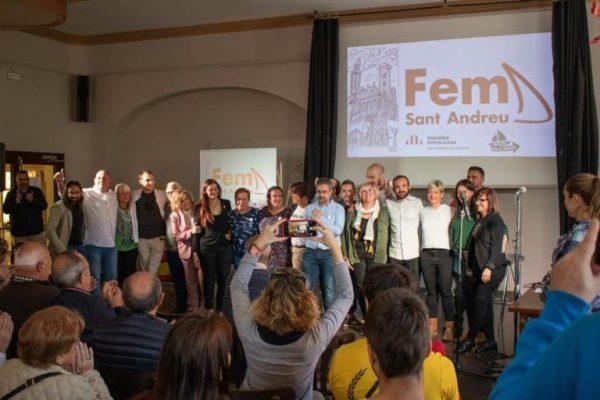 La Bustia presentacio candidatura Fem Sant Andreu