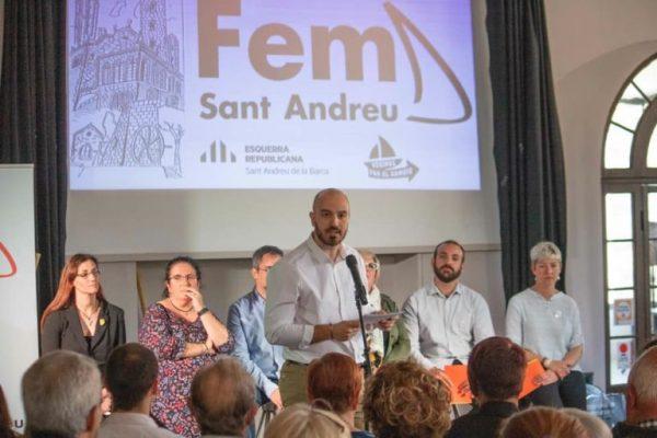 La Bustia presentacio candidatura candidat Fem Sant Andreu