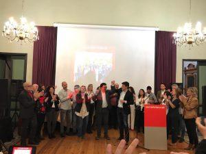 La Bustia presentacio centre cultural candidats PSC Gelida