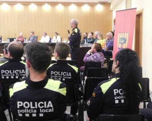 labustia policia junta