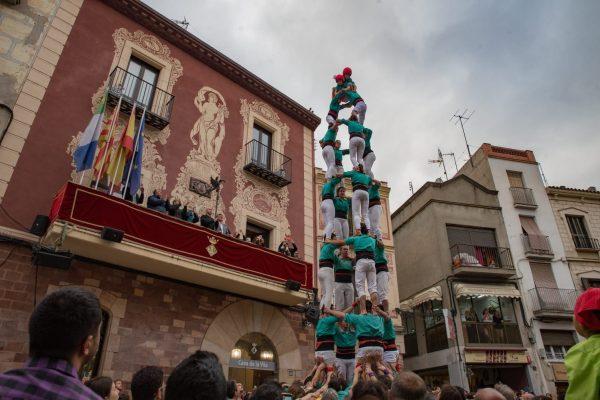 La Bustia Castellers Vilafranca Fira Primavera Martorell 1
