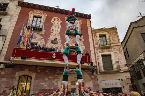La Bustia Castellers Vilafranca Fira Primavera Martorell 2