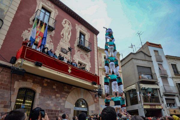 La Bustia Castellers Vilafranca Fira Primavera Martorell