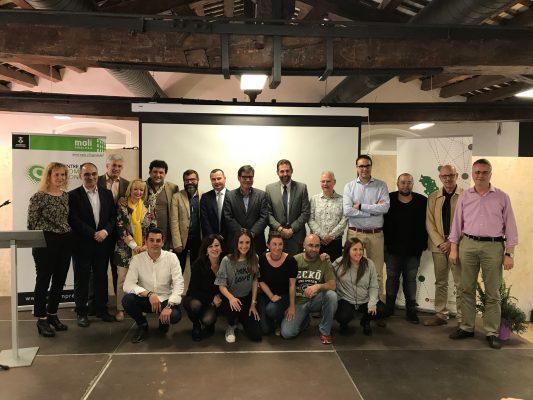 La Bustia Concurs Iniciatives Empresarials BLN 2018 Martorell premiats