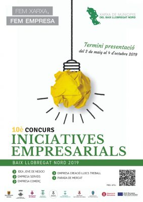 La Bustia Concurs Iniciatives Empresarials BLN cartell 2019