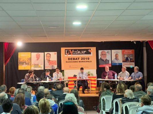 La Bustia Debat electoral Alzinar Masquefa 2019
