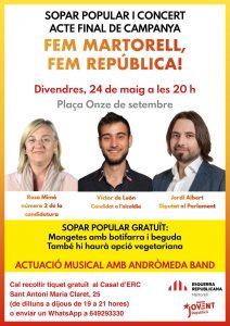 La Bustia ERC Martorell acte final de campanya 2019