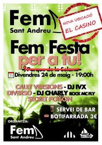 La Bustia Fem Sant Andreu acte final de campanya 2019