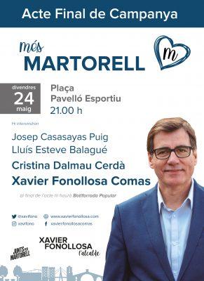 La Bustia Junts per Martorell acte final de campanya 2019
