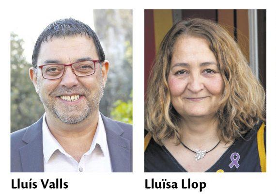 La Bustia PSC Lluis Valls i ERC Lluisa Llop Gelida