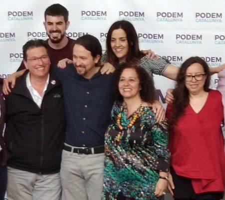 La Bustia Pablo Iglesias Podemos Sant Andreu