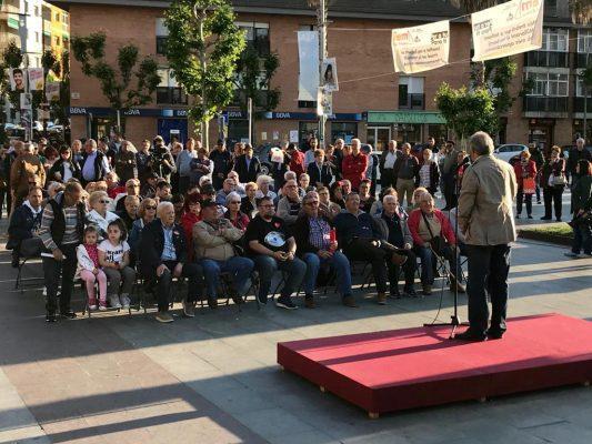 La Bustia acte de campanya PSC Sant Andtreu