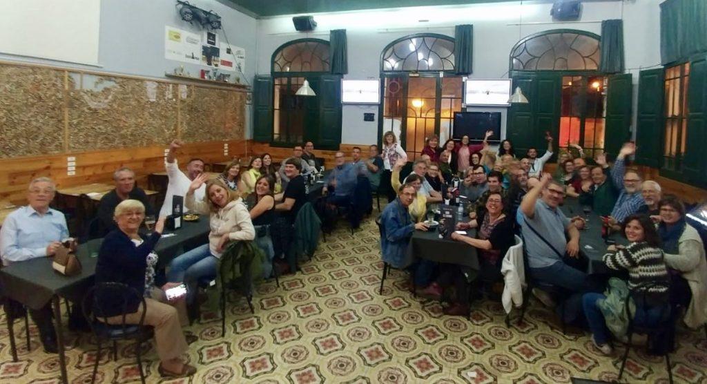 La Bustia celebracio victoria 26M Carme Rallo ERC Sant Esteve