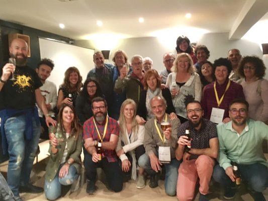 La Bustia celebracio victoria 26M ERC-GIC-AM Collbato