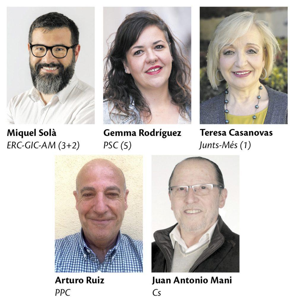 La Bustia eleccions municipals 2019 candidats Collbato